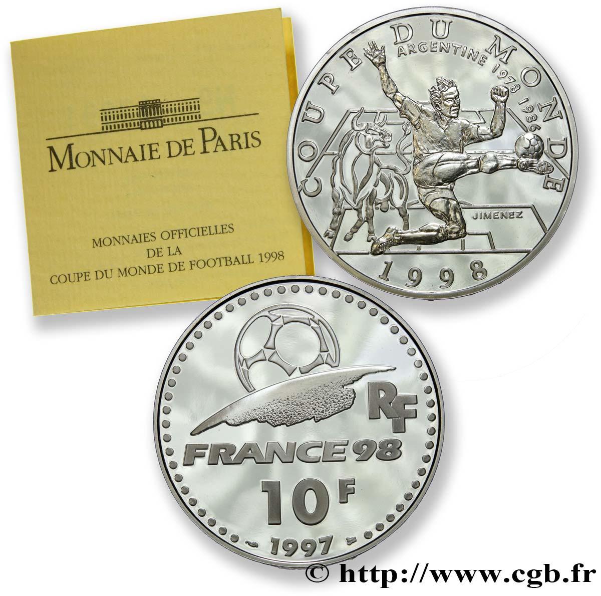 monnaie de paris 10 francs 1998
