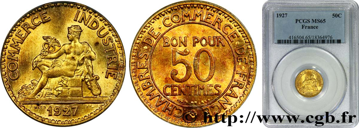 50 centimes chambres de commerce 1927 paris fmd for Chambre commerce international paris
