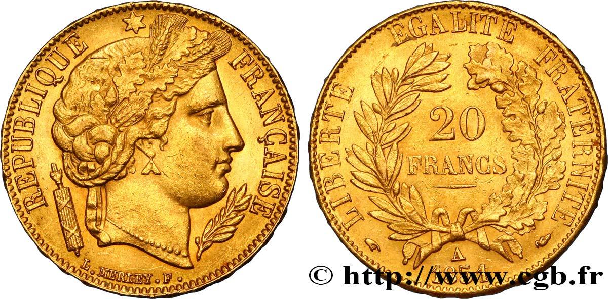 20 Francs Or Cérès 1851 Paris F5294 Fmd424797 Modernes