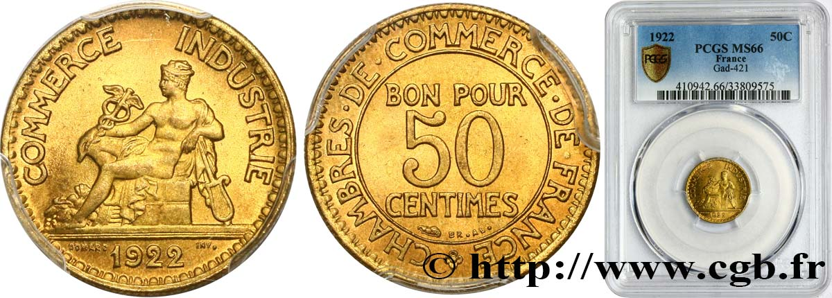 50 centimes chambres de commerce 1922 paris fmd for Chambre de commerce internationale paris arbitrage