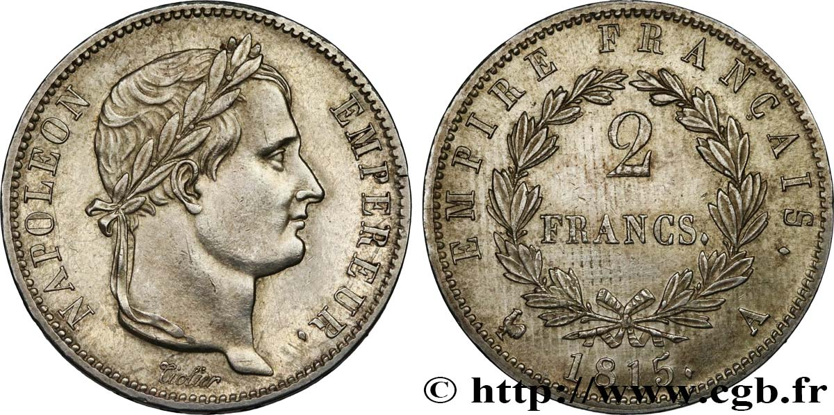 2 francs Cent-Jours 1815 Paris F.256/1 SUP60
