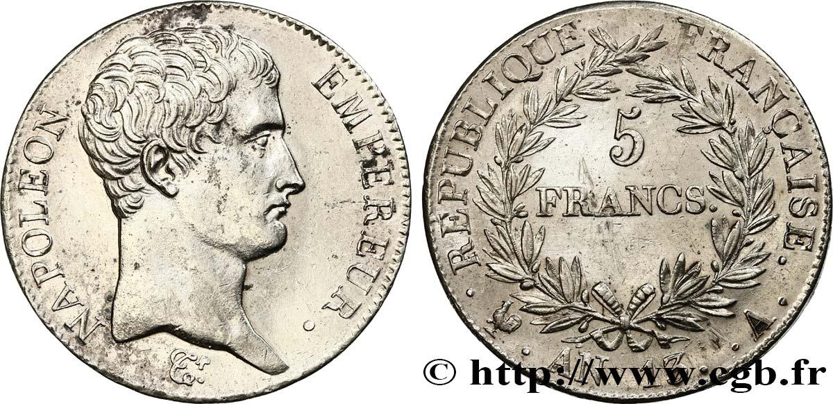 Le Calendrier Revolutionnaire.5 Francs Napoleon Empereur Calendrier Revolutionnaire 1805 Paris F 303 1