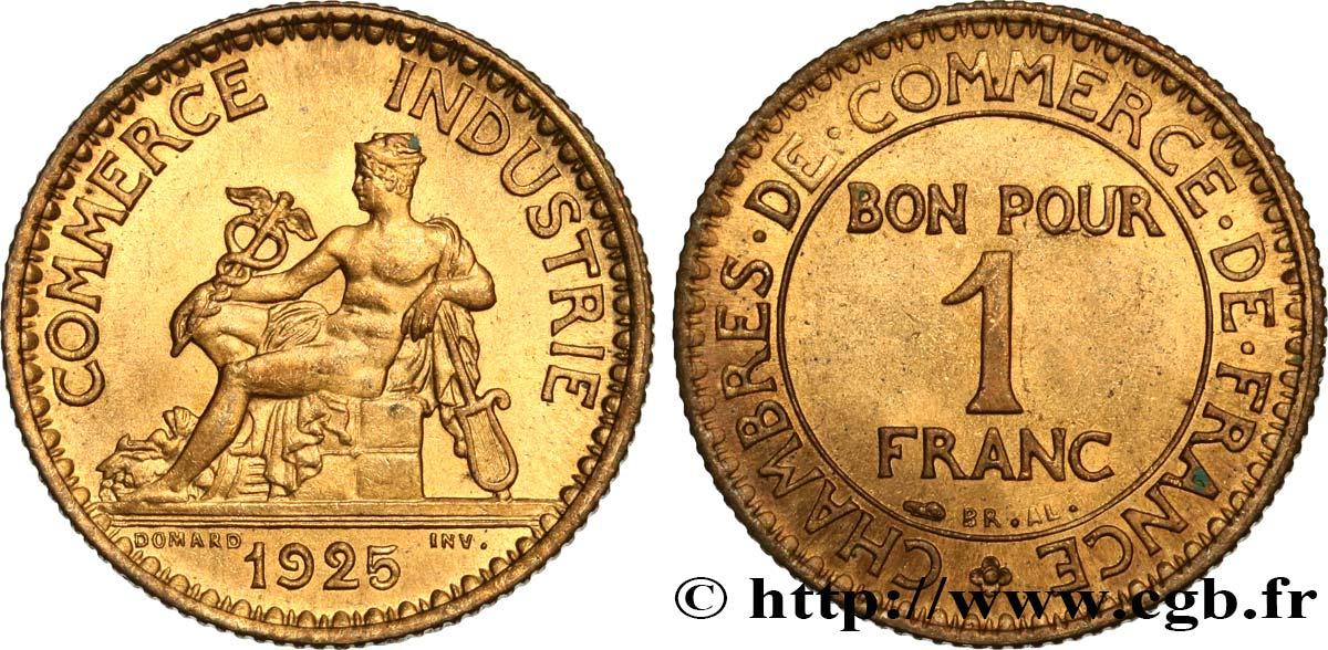 etat FRANCE  1 franc 1925  chambre de commerce
