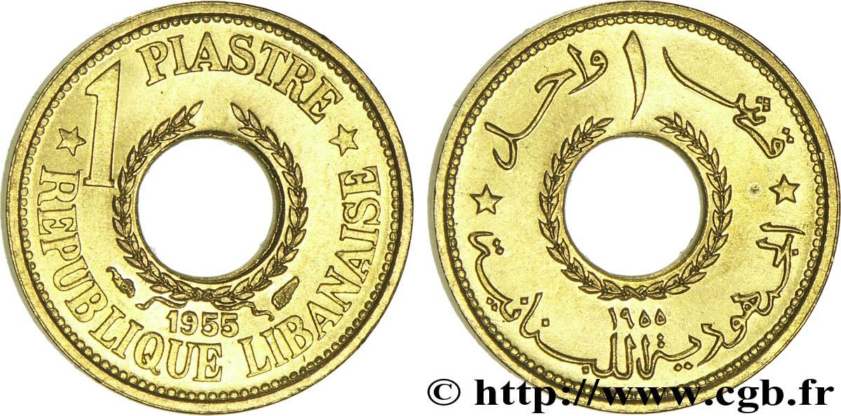 1955 Lebanon 1 Piastre