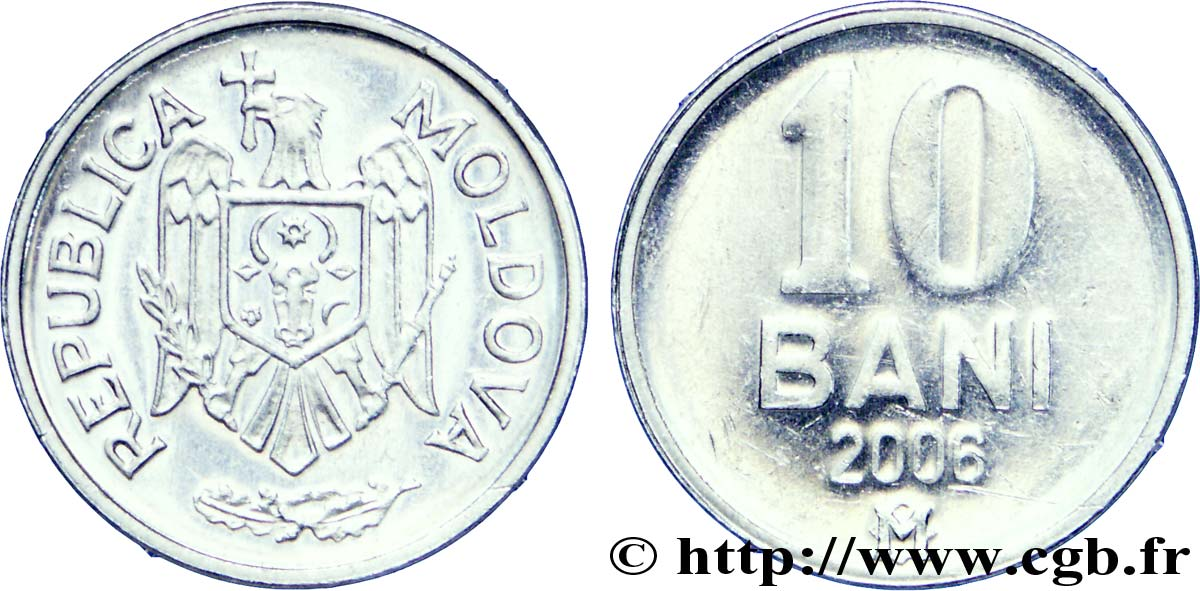 MOLDAVIE 10 Bani 2006  SPL