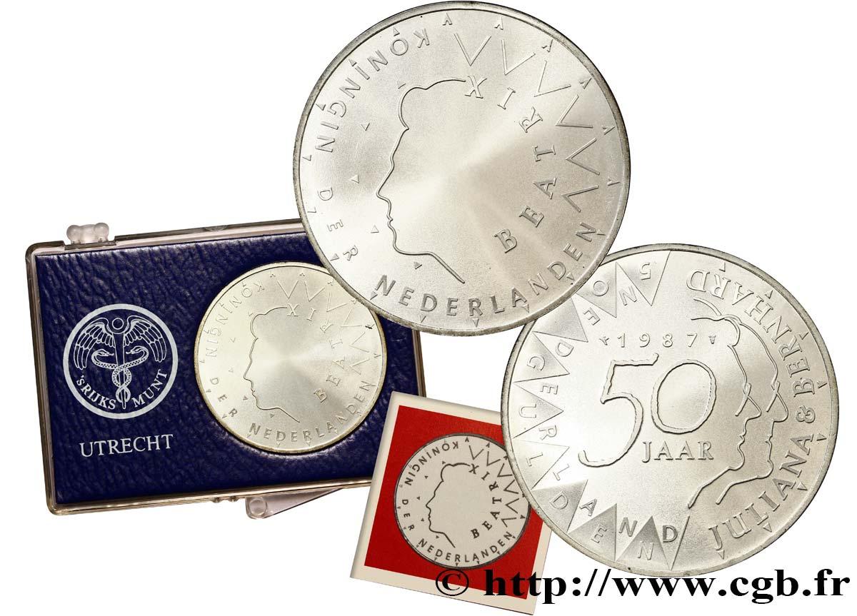 Pays bas 50 gulden be proof 50e anniversaire de mariage for 50e anniversaire de mariage
