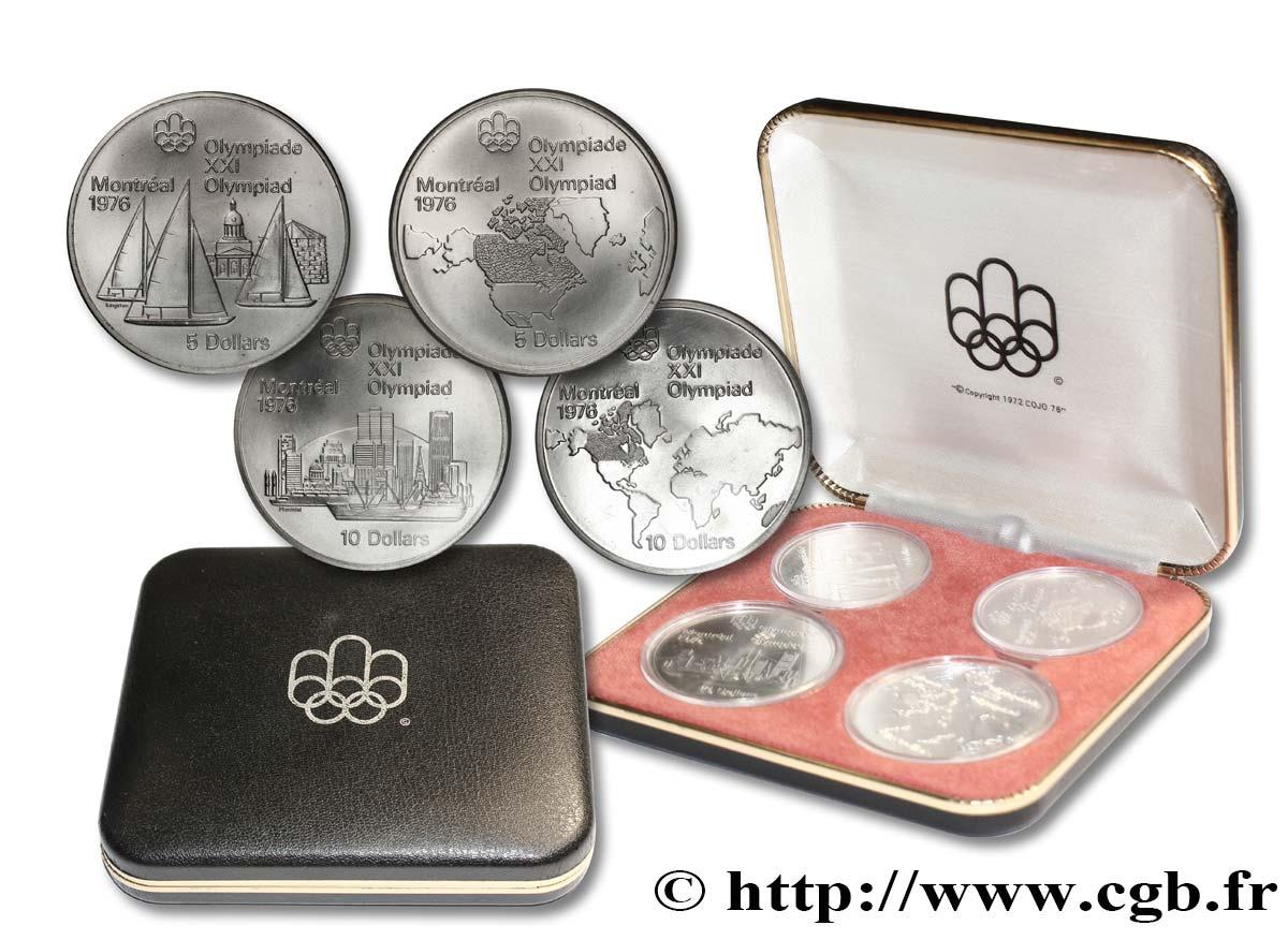 piece de monnaie jeux olympique 1976