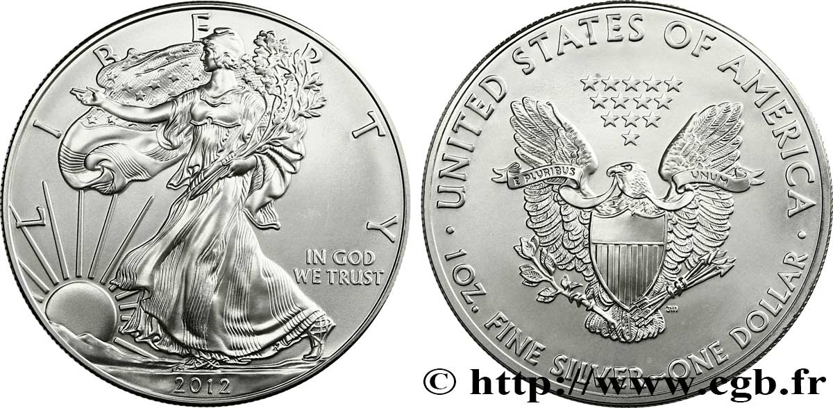 United States Of America 1 Dollar 1 Once Type Liberty