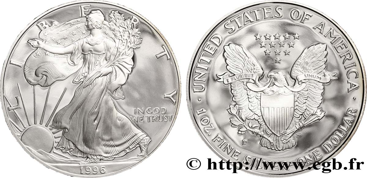 United States Of America 1 Dollar Proof Type Silver Eagle