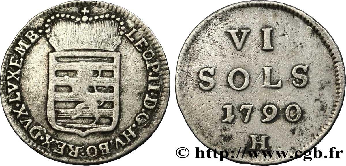 Afbeeldingsresultaat voor 6 sols 1790