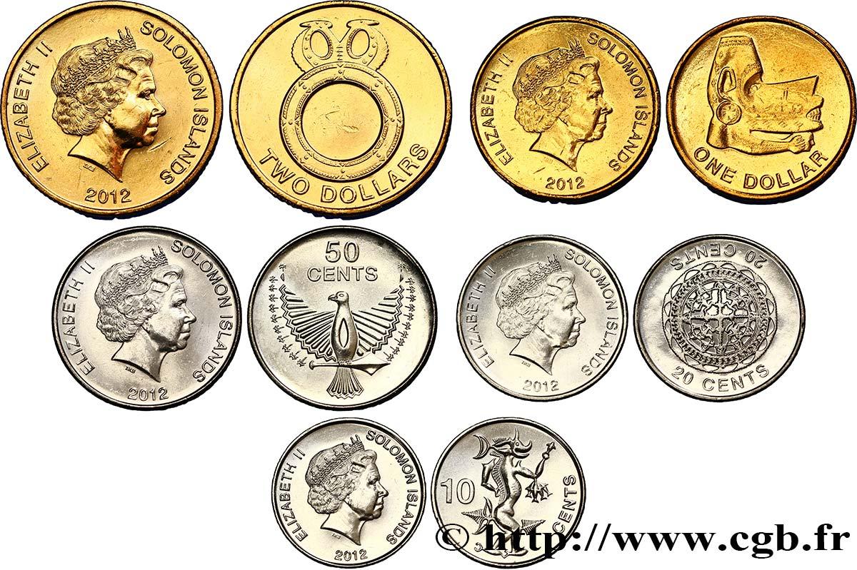 Iles Salomon : Le Dollar Monnaie des Iles Salomon