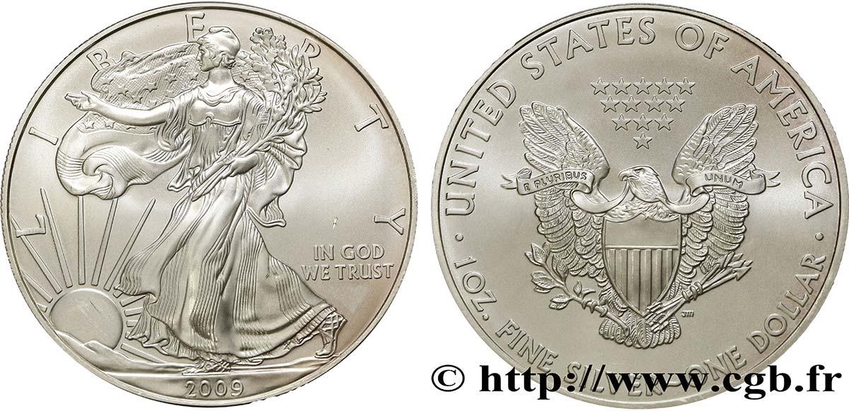 201 Tats Unis D Am 201 Rique 1 Dollar Type Silver Eagle 2009 Fwo