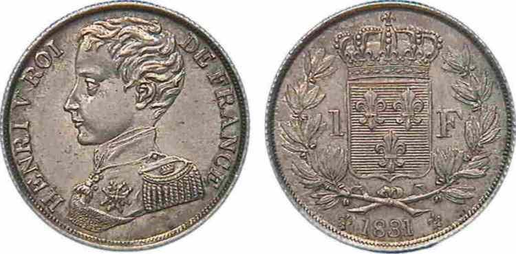 piece de monnaie henri v