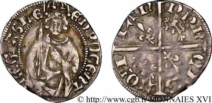 DUCHY OF AQUITANY - EDWARD THE BLACK PRINCE Hardi SS