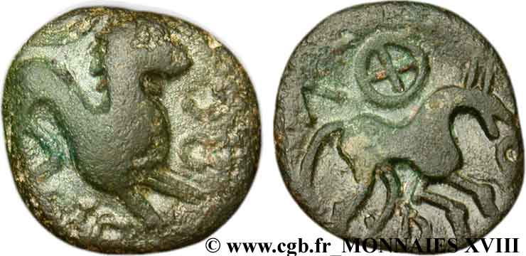 NERVII (Currently Belgium) Bronze VERCIO/VERCIO XF