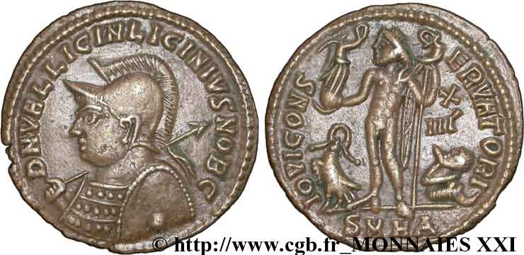 LICINIUS II Follis ou nummus SUP