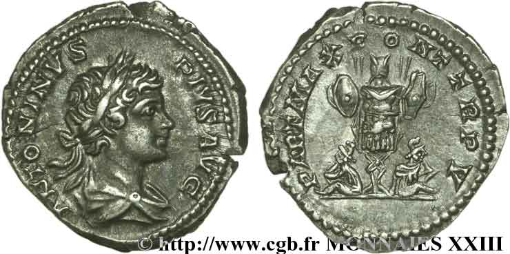 CARACALLA Denier FDC