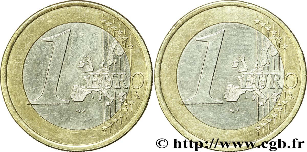 Europäische Zentralbank 1 Euro Double Face Commune Nd V331893