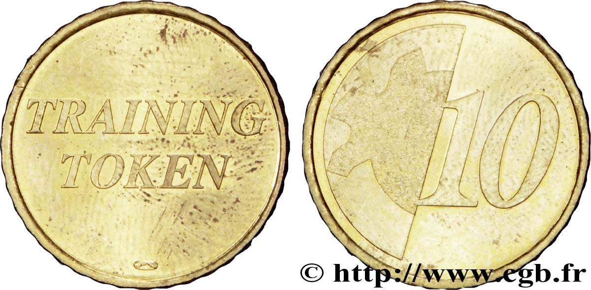 BANCO CENTRAL EUROPEO 10 centimes d'euro, Training Token n.d. SC