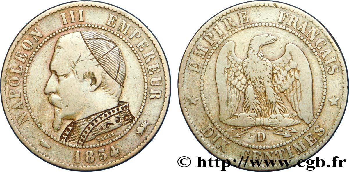 piece de monnaie napoleon 1854