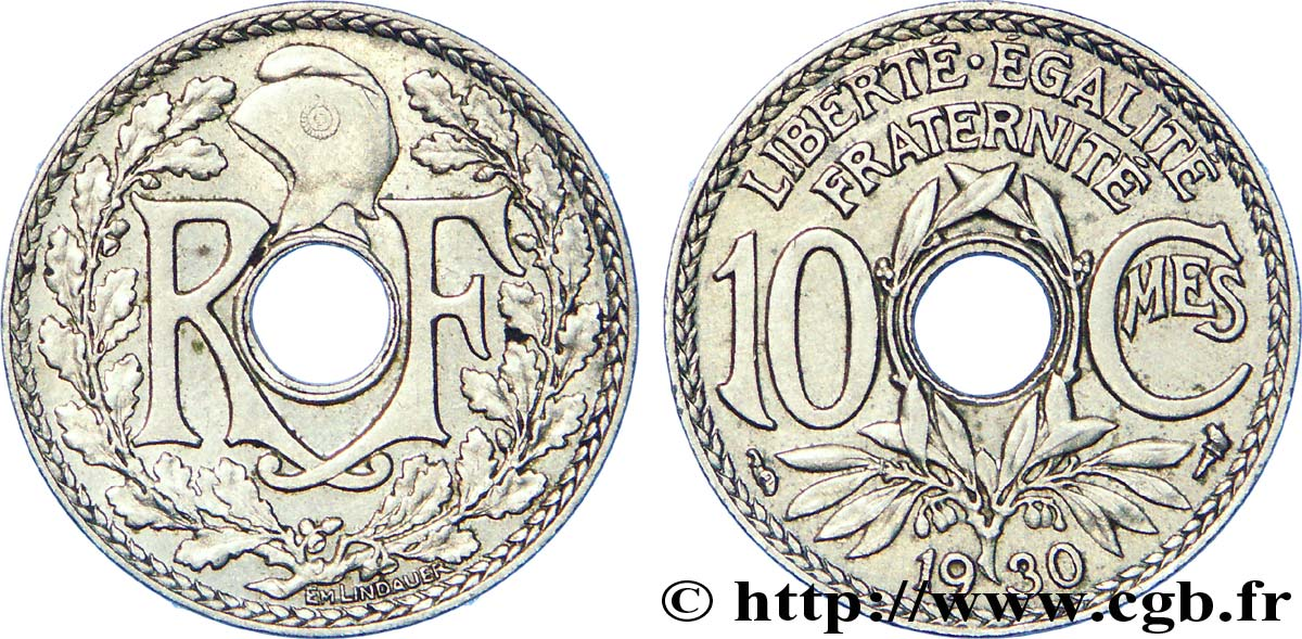10 centimes Lindauer 1930  F.138/17 SUP