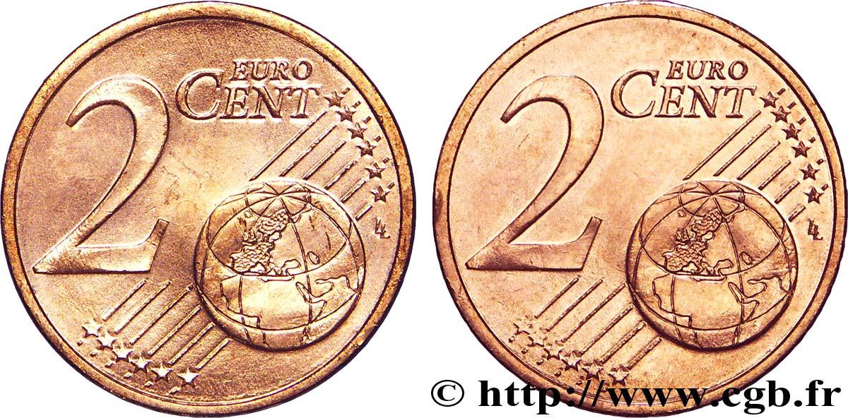 banque centrale europeenne 2 centimes d euro double face commune n d spl v44 1147 euros. Black Bedroom Furniture Sets. Home Design Ideas