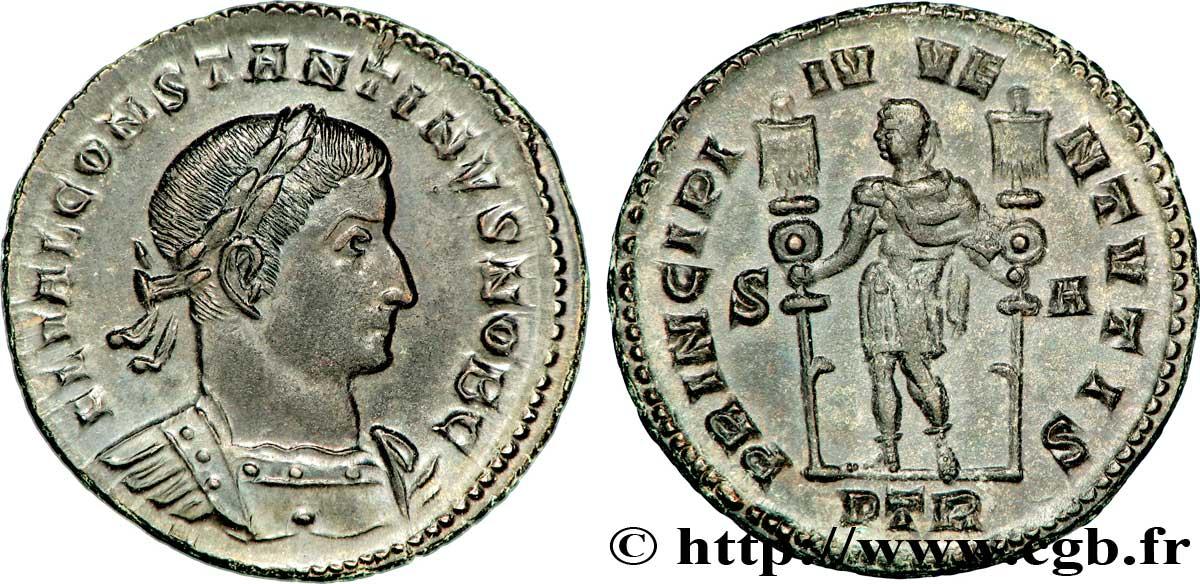 Grand Foyer La Monnaie : Constantin ier le grand follis ou nummus v romaines
