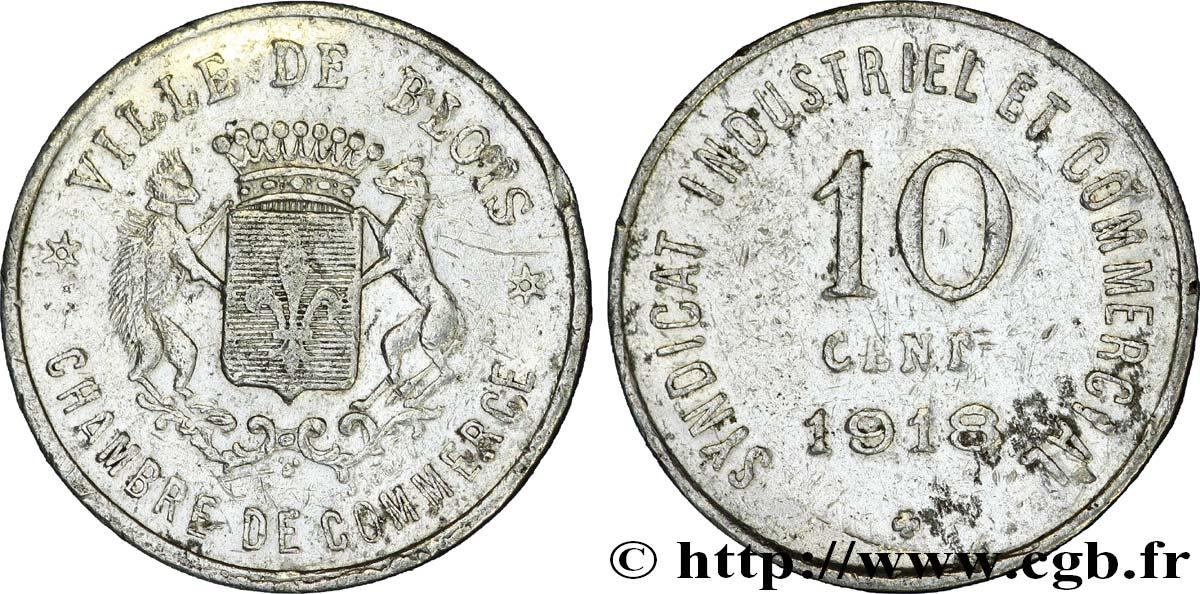 Chambre de commerce ville de blois 10 centimes blois fnc 236761 n cessit - Chambre du commerce blois ...