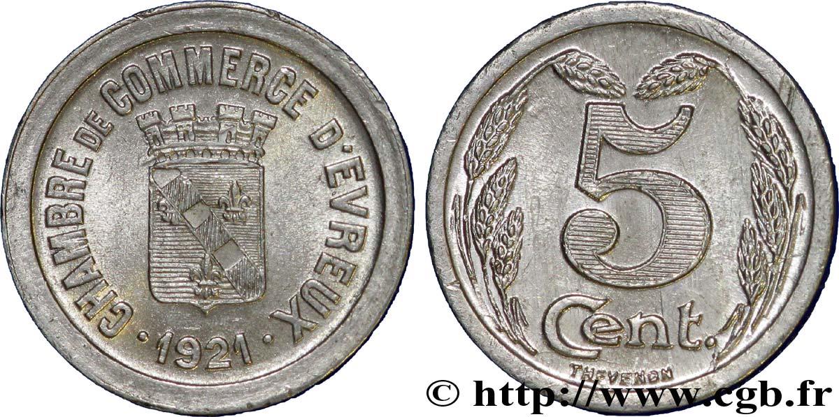 Chambre de commerce d evreux 5 centimes evreux fnc 237171 for Chambre de commerce evreux