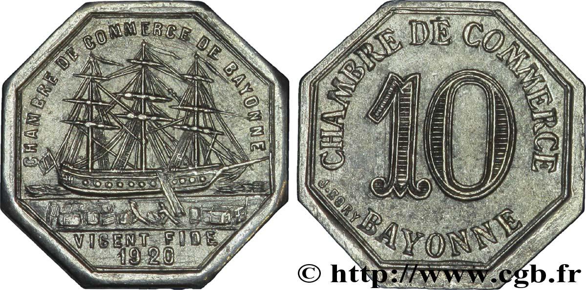 Chambre de commerce de bayonne 10 centimes bayonne fnc for Chambre de commerce caraquet