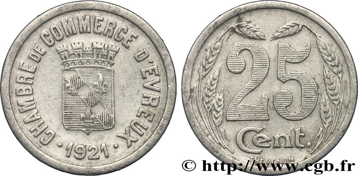 chambre de commerce d evreux 25 centimes evreux fnc 237664