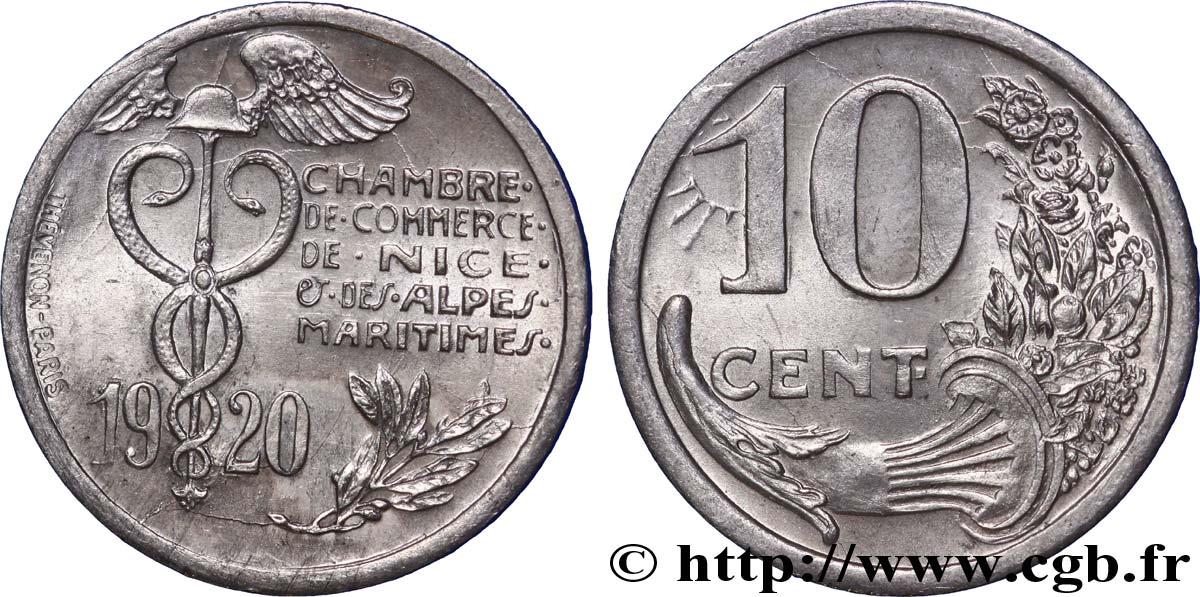 Chambre de commerce de nice et des alpes maritimes 10 centimes nice fnc 238958 notgeld - Chambre des notaires alpes maritimes ...