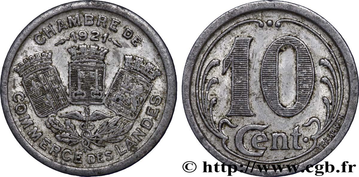 Chambre de commerce des landes 10 centimes vf fnc 241042 for Chambre de commerce caraquet