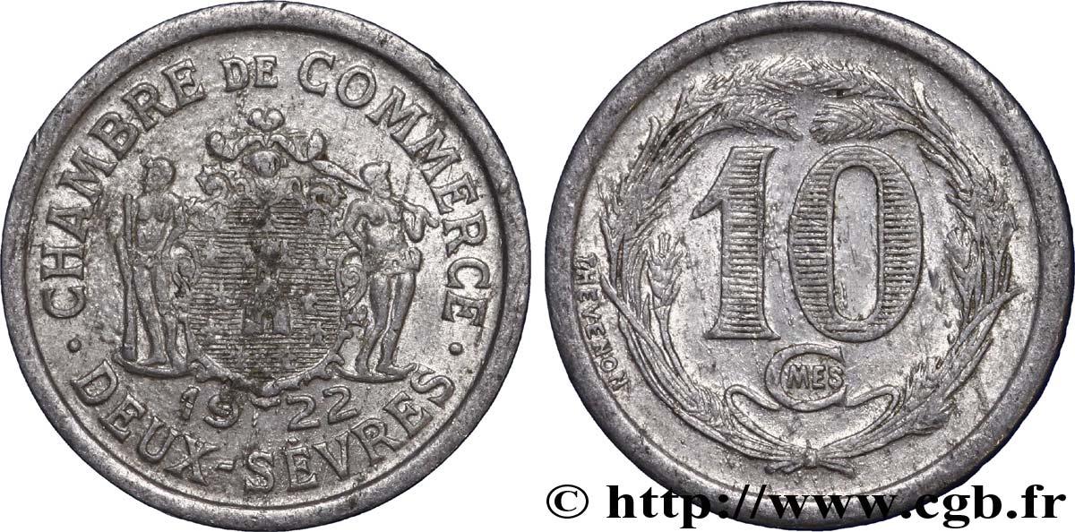 Chambre de commerce des deux sevres 10 centimes fnc 241179 monete di necessit - Chambre de commerce niort ...