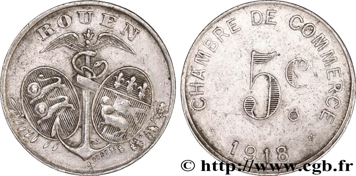Chambre de commerce 5 centimes rouen vf fnc 241205 for Chambre de commerce gaie