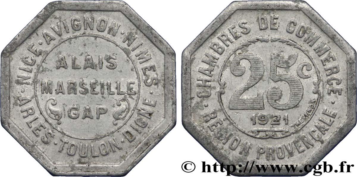 Chambres de commerce region provencale 25 centimes alais for Chambre de commerce italienne marseille