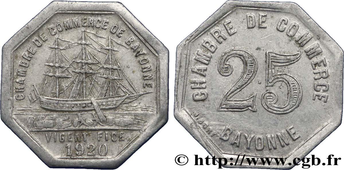 Chambre de commerce de bayonne 25 centimes bayonne fnc for Chambre de commerce caraquet