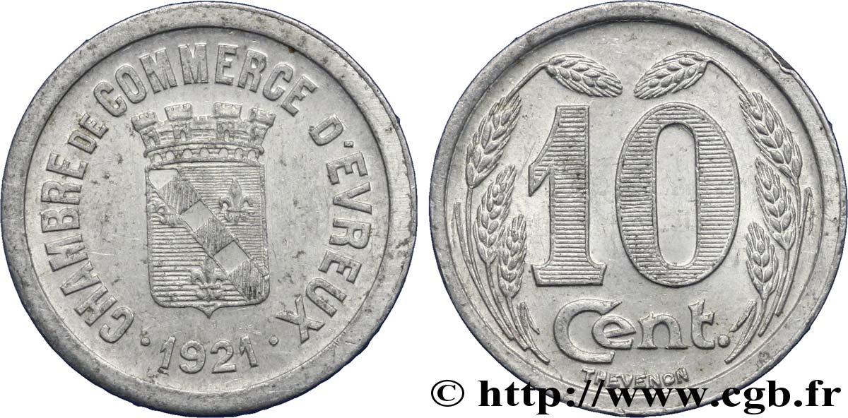 chambre de commerce d evreux 10 centimes evreux xf fnc