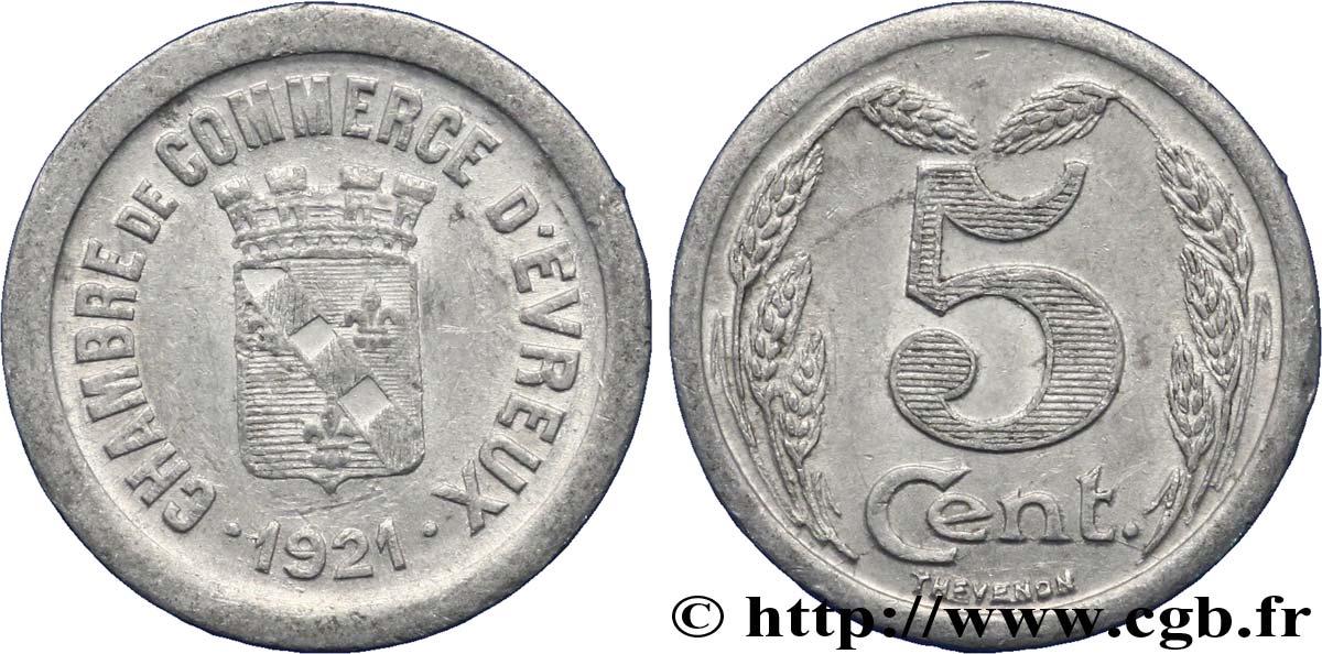 Chambre de commerce d evreux 5 centimes evreux ttb fnc for Chambre de commerce evreux