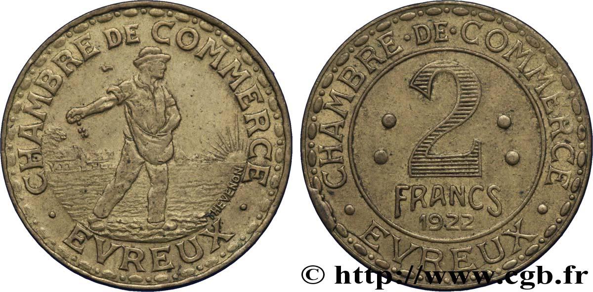 Chambre de commerce d evreux 2 francs evreux fnc 244080 for Chambre de commerce victoriaville