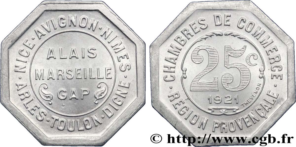 Chambres de commerce region provencale 25 centimes alais arles avignon digne gap marseille - Chambre des commerce marseille ...