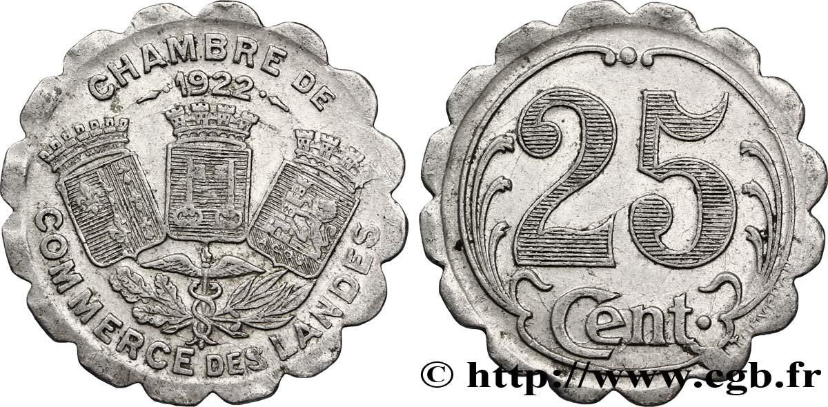 Chambre de commerce des landes 25 centimes fnc 286067 for Chambre de commercre