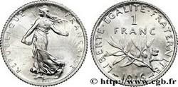 ARGENT – 1 Franc Semeuse FRANCE 4,17 Gr Argent Fin