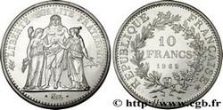ARGENT – 10 Francs Hercule FRANCE 22,5 Gr Argent Fin