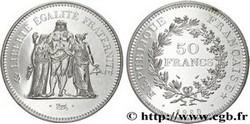ARGENT – 50 Francs Hercule FRANCE 27 Gr Argent Fin