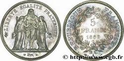 ARGENT – 5 Francs Ecu  FRANCE 22,5 Gr Argent Fin