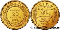 OR – 20 FRANCS TUNISIE 5,8 Gr Or Fin
