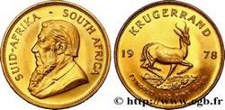 OR – KRUGERRAND AFRIQUE DU SUD 31,1 Gr Or Fin