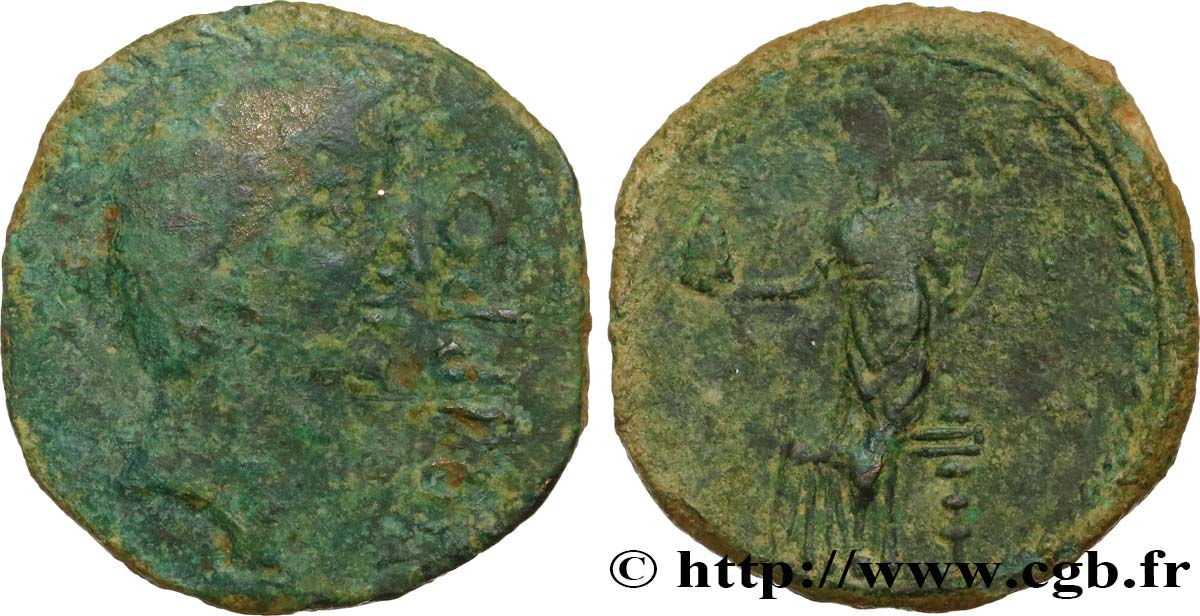AUGUSTUS As VF/XF