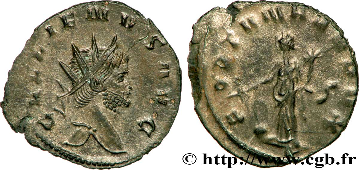 GALLIENUS Antoninien MS/AU